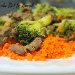 Ginger Garlic Beef and Broccoli Stir Fry