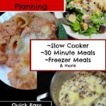Easy Meal Planning: Quick and Easy Meal Plan 1