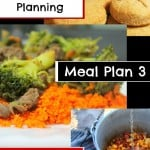 Quick Easy Meal Planning: Meal Plan 3