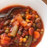 Slow Cooker Recipes: Savory Vegetable Soup