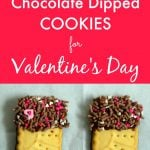 Gluten Free Chocolate Dipped Cookies