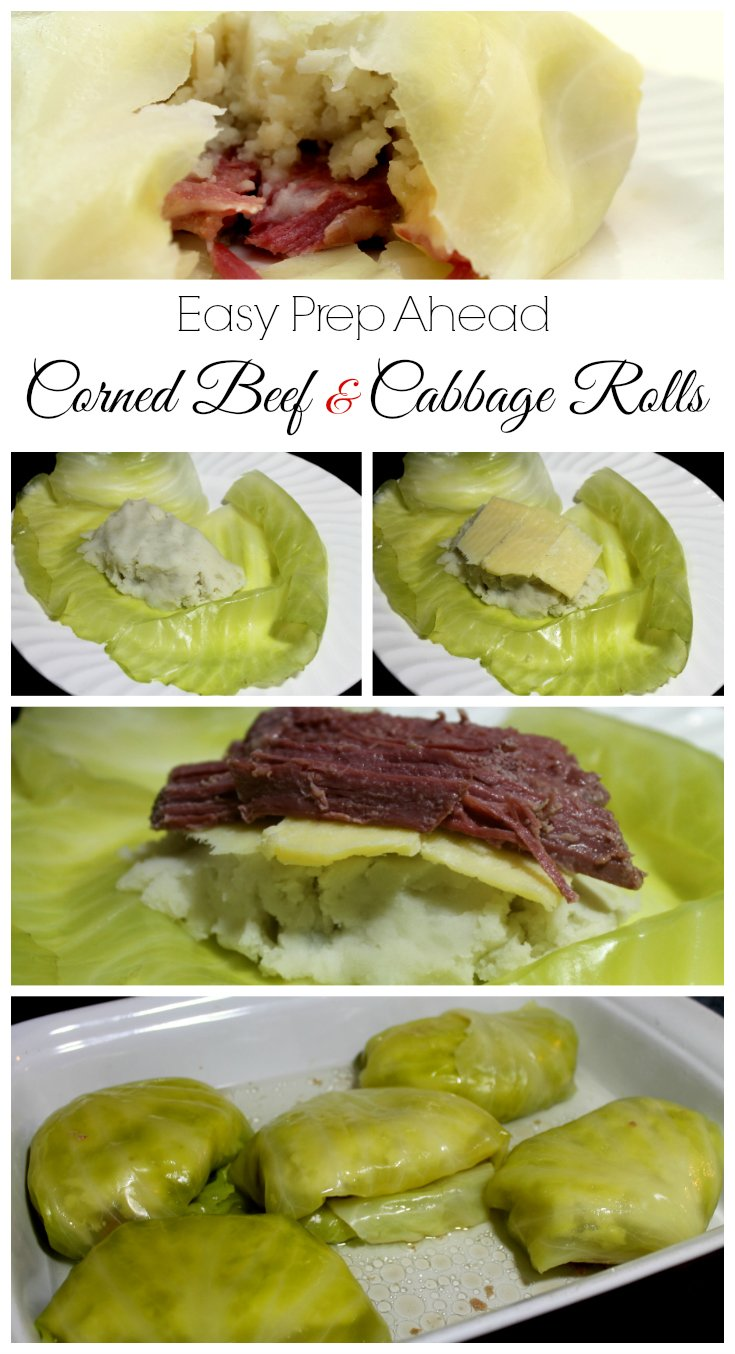 Easy Prep Corned Beef and Cabbage Rolls - Real: The Kitchen and Beyond