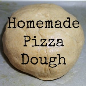 Homemade Pizza Dough Button