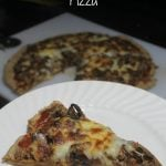 Homemade Pizza Recipes: Steak and Mushroom Melt Pizza