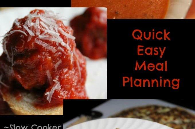 Quick Easy Meal Planning: Easy Meal Plan 5 - Real: The Kitchen and Beyond