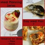 Quick Easy Meal Planning: Meal Plan 7