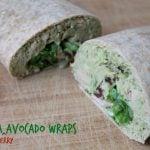 Quick Easy Recipes: Tuna Cherry Avocado Wrap