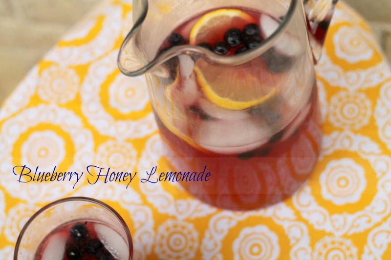 Blueberry Honey Lemonade - Real: The Kitchen and Beyond