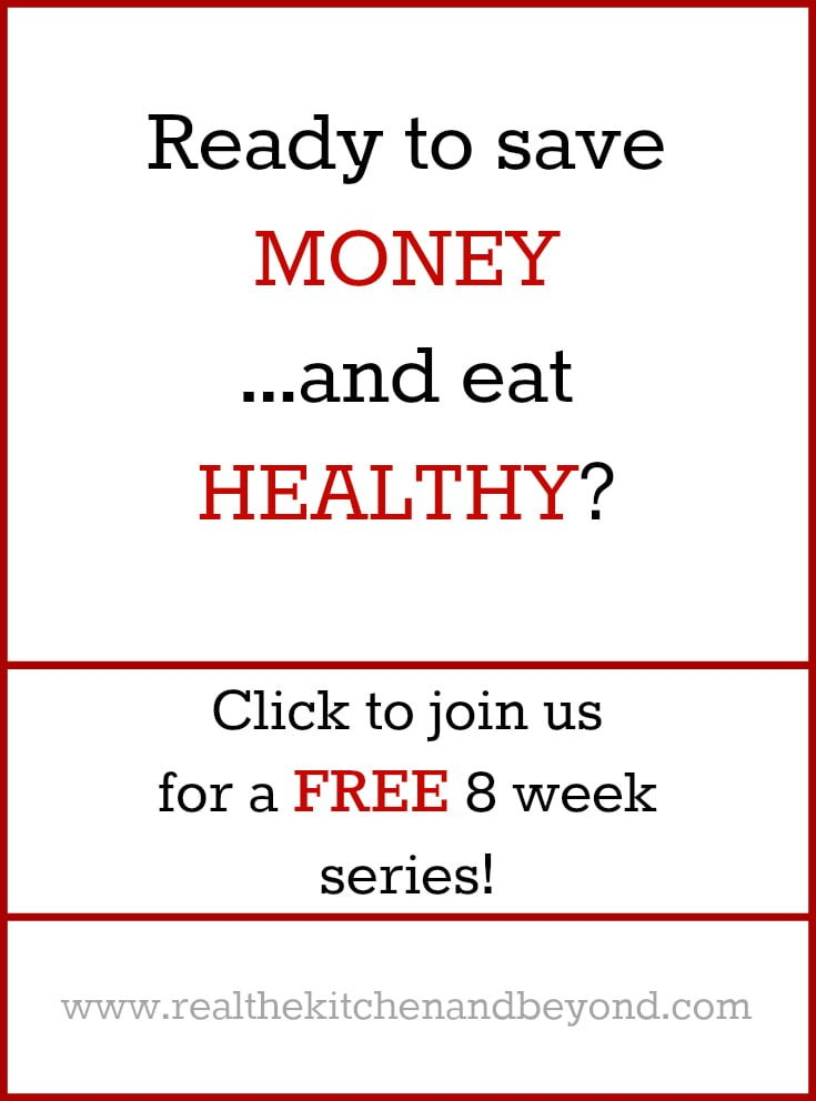 Free Budget Cutting Series - Real: The Kitchen and Beyond