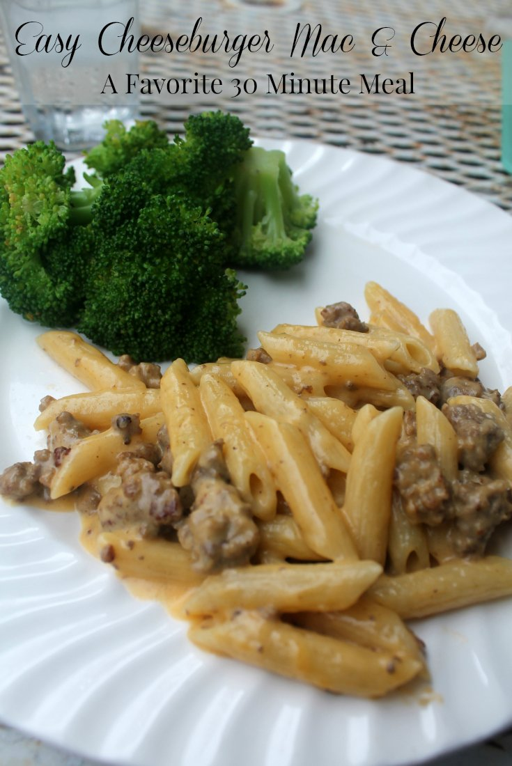 Homemade Mac And Cheese Recipe With Hamburger
