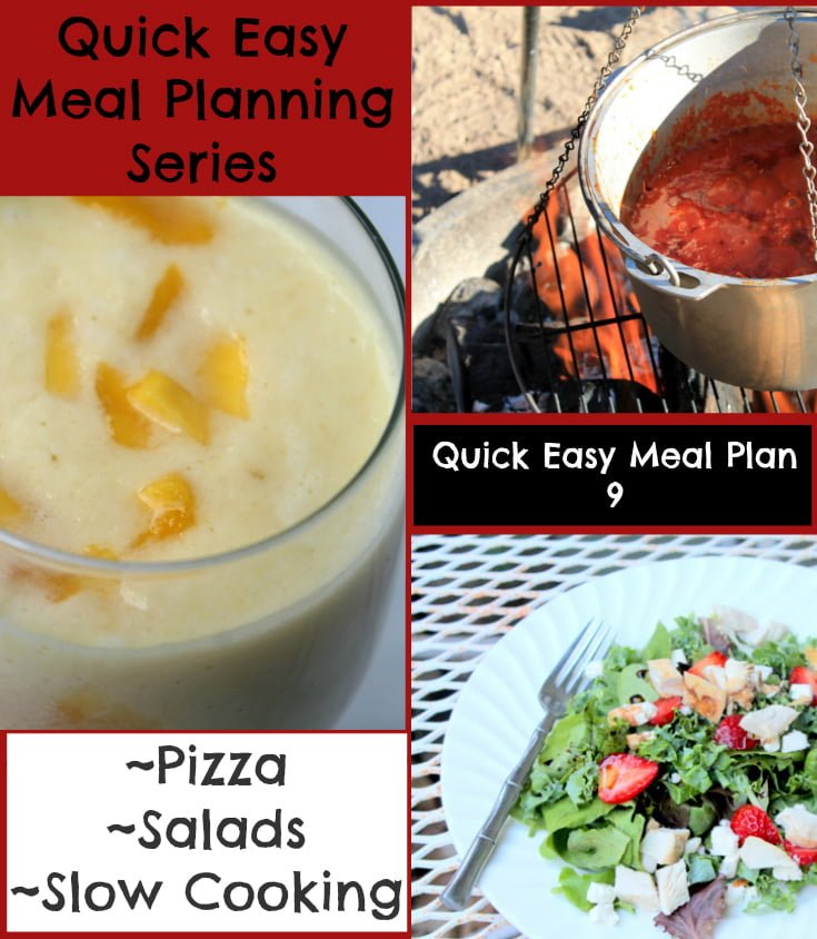 Quick Easy Meal Planning: Quick Easy Meal Plan 9 - Real: The Kitchen and Beyond