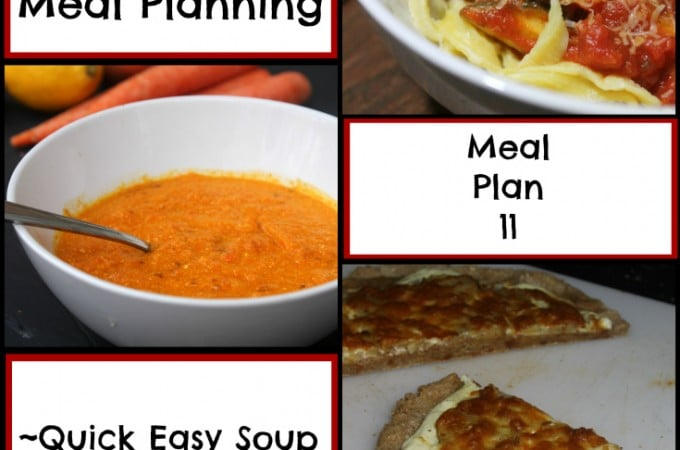 Quick Easy Meal Planning: Quick Easy Meal Plan 11 - Real: The Kitchen and Beyond
