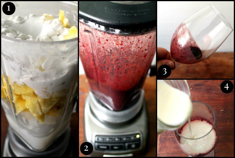 Blueberry Piña Colada Recipe Steps - Real: The Kitchen and Beyond