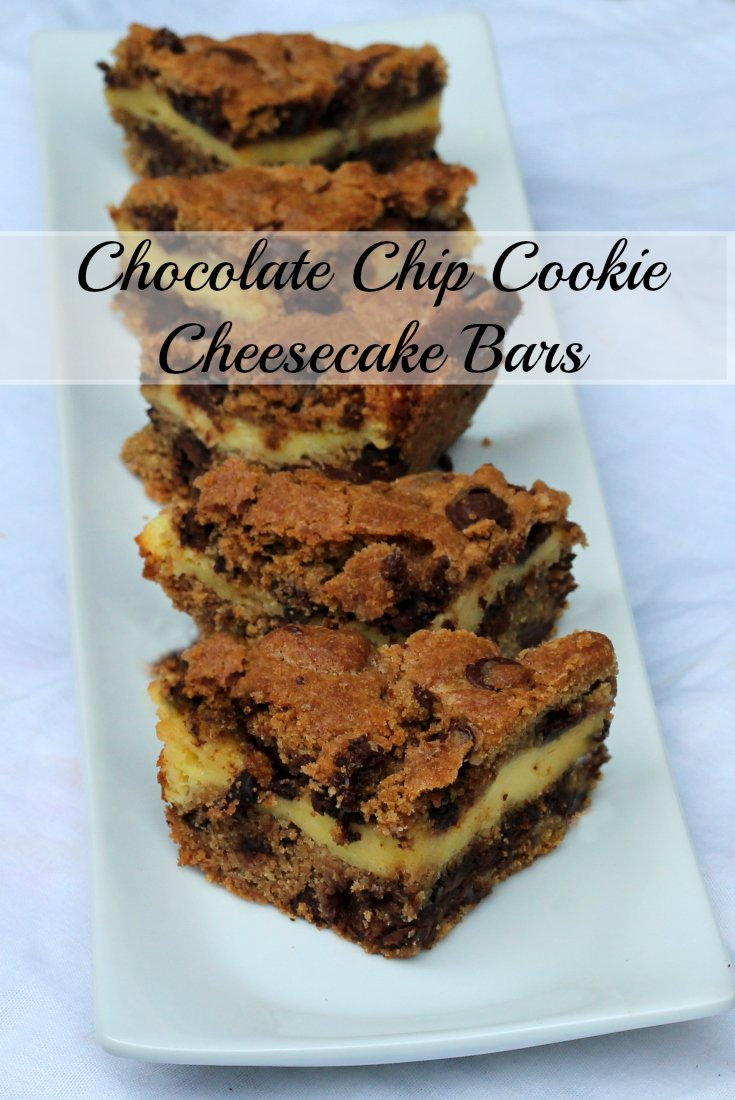Chocolate Chip Cookie Cheesecake Bars - a BEST Chocolate Chip Cookie Recipe - Real: The Kitchen and Beyond