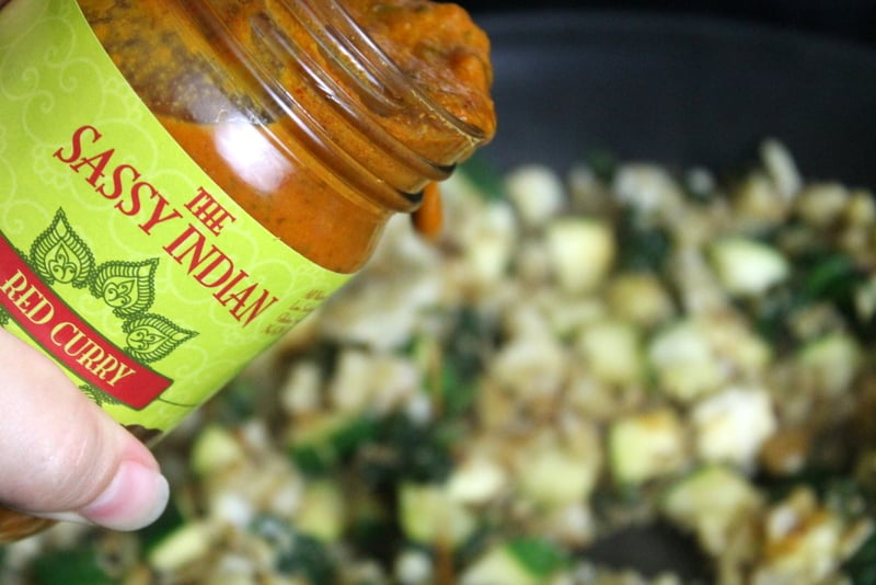Easy Curried Vegetables with The Sassy Indian sauce - Real: The Kitchen and Beyond