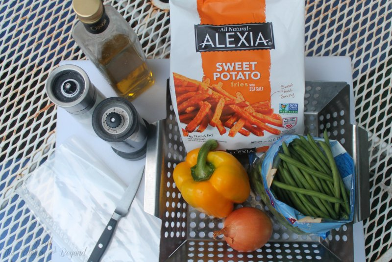 Healthy Grilling Recipe with Alexia Fries - Real: The Kitchen and Beyond