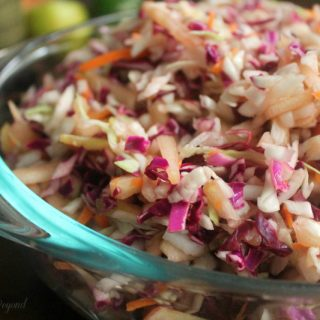 Easy Coleslaw Recipe - Honey Lime Coleslaw - Real: The Kitchen and Beyond