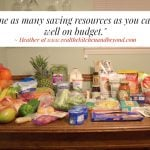 $29 Grocery Budget Challenge: Meal Plan 7