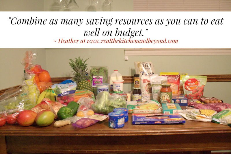 29 Dollar Grocery Challenge Week 7 - Real: The Kitchen and Beyond