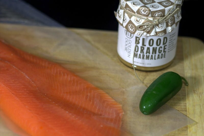 Easy Fish Recipe: Blood Orange Jalapeño Salmon - Real: The Kitchen and Beyond
