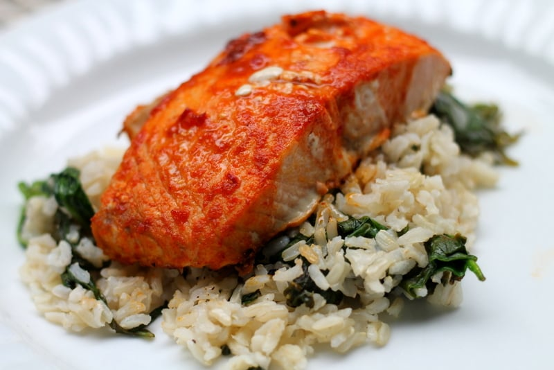 Buffalo salmon an easy fish recipe real the kitchen for Easy fish recipes for dinner