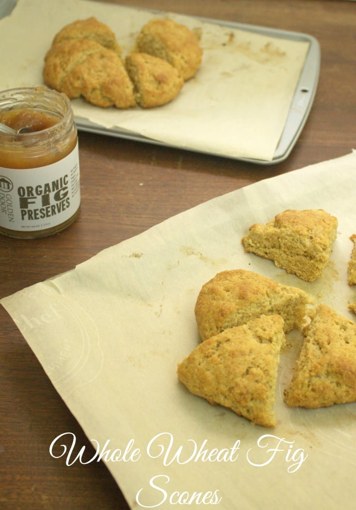 Whole Wheat Fig Scone Recipe - Real: The Kitchen and Beyond