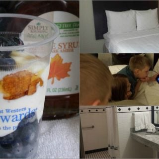 where to stay Chicago Best Western River North Chicago and Blueberry Maple Parfaits