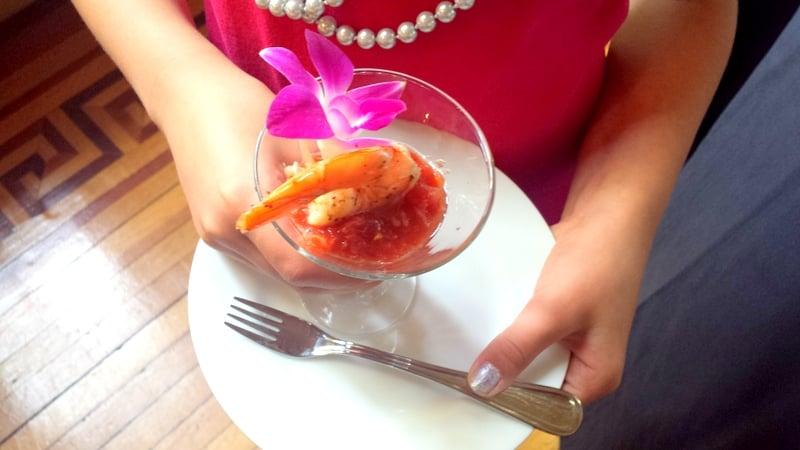 Glen Foerd Mansion Shrimp Cocktail