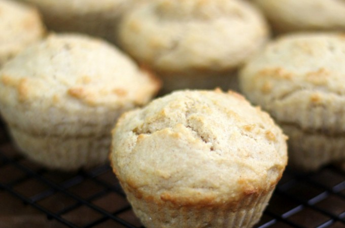 Maple Sour Cream Muffins