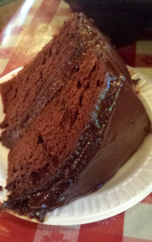 Portillos Chocolate Cake