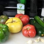 Summer Veggie Bake Ingredients - Real: The Kitchen and Beyond