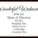 Wonderful Wednesday Blog Hop 136