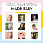Meal Planning Made Easy: Meal Plan 6