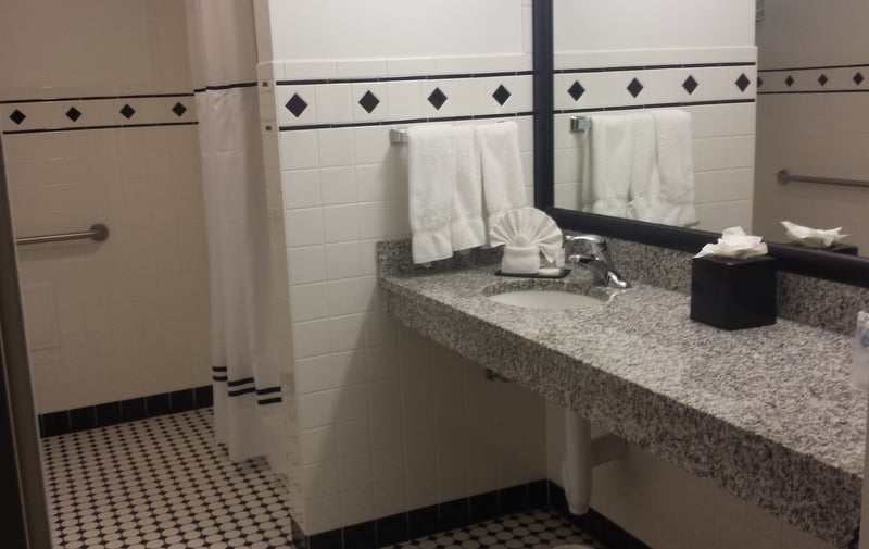 where to stay Best Western River North Bathroom