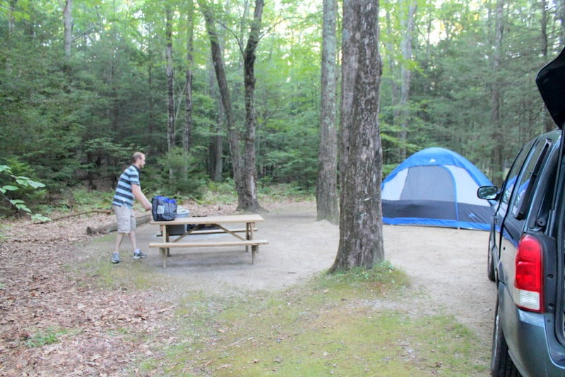 George Washington Campground Rhode Island Camping