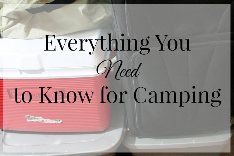 Packing List for Camping 2