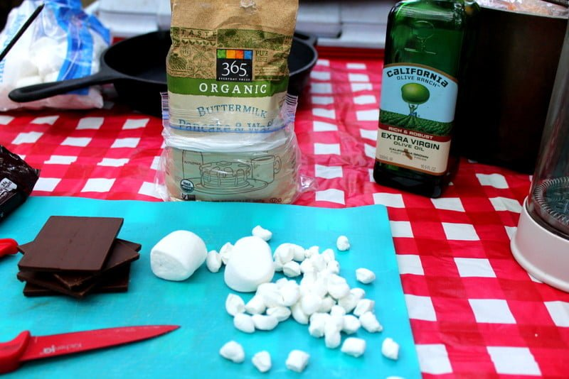 S'more Pancake Recipe Ingredients