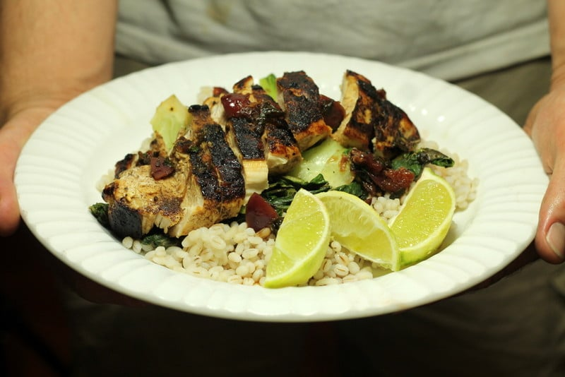 HelloFresh Cherry-Lime Rickey Chicken