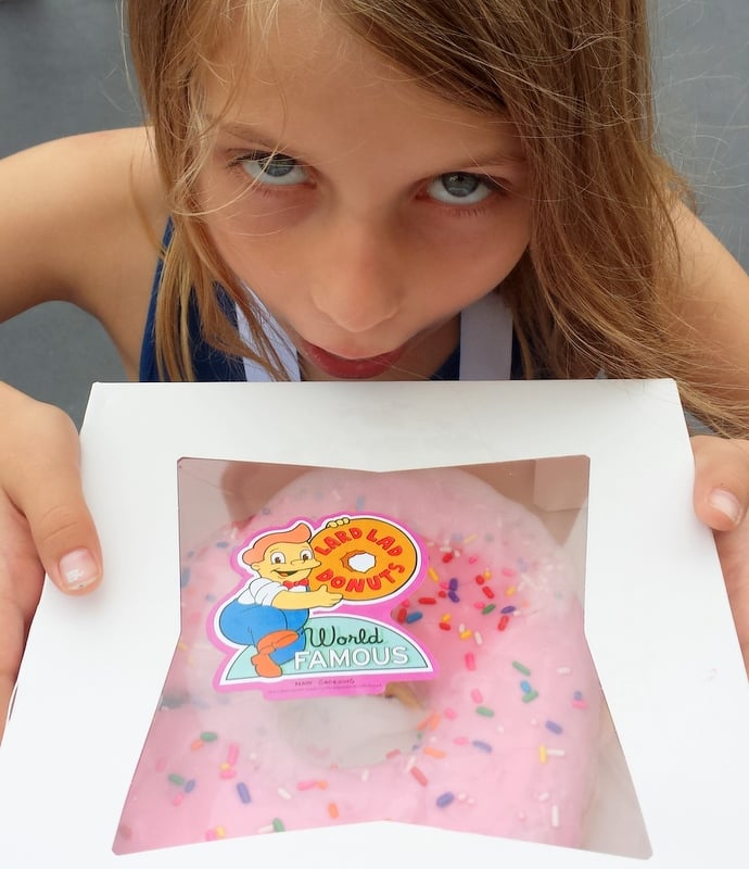 Simpson's Lard Boy Doughnut Universal Studios Orlando