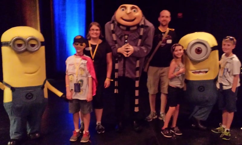 Despicable Me Character Picture Universal Orlando Studios