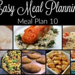 Meal Planning Made Easy: Meal Plan 9