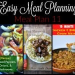 Easy Meal Planning: Meal Plan 11