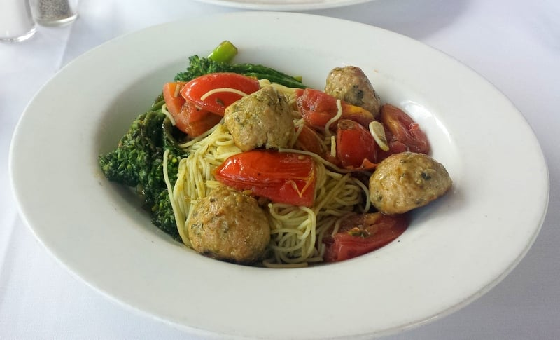 Emeril's Orlando Tuna + Pork Meatballs