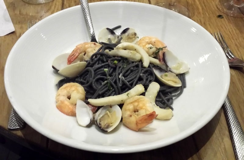 Squid Ink Pasta and Seafood Kitchen at Universal Studios Orlando CityWalk