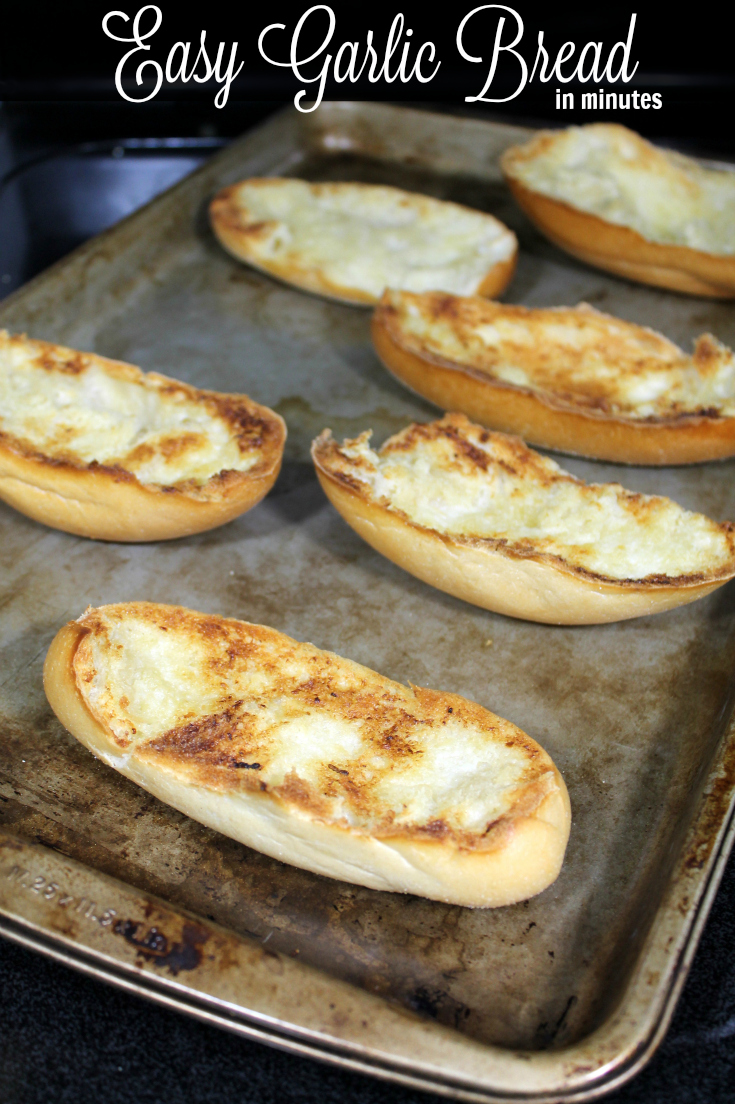 Easy Garlic Bread Recipe