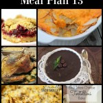 Easy Meal Planning: Meal Plan 13