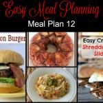 Meal Planning Made Easy: Meal Plan 12
