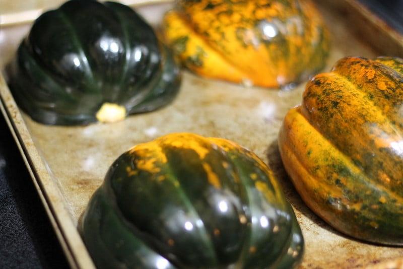 Squash for Rice Stuffed Acorn Squash Recipe