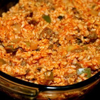 Tomato, Beef, and Rice - Easy Homemade Recipes
