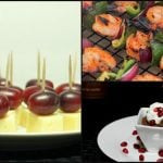 Easy Party Appetizers and Desserts
